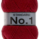 No1 - 738 Donker Rood