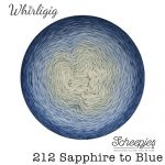 Whirligig - 212 Sapphire to Blue