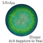 Whirligig - 213 Sapphire to Teal